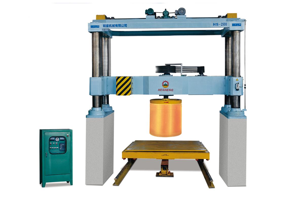 HS-2500弧型板切石机