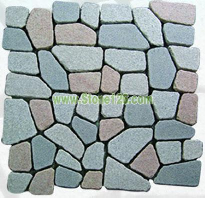 供应网粘小方块 石材价格