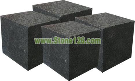 供应G684福鼎黑小方块 石材价格