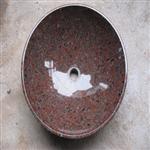 洗脸盆洗手盆石头盆石材洁具南非红