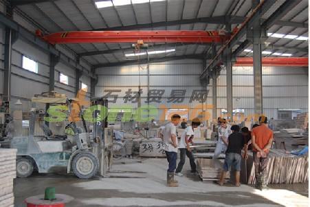 生产车间-公司相册-漳州龙海市兴龙虎皮石材厂-虎皮黄
