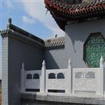 寺庙雕刻|石雕栏杆石雕厂家