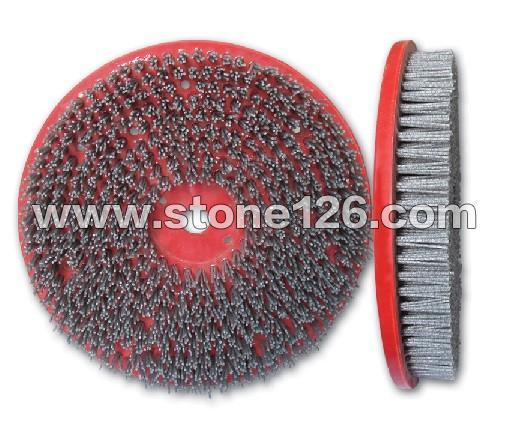 Ф 350mm圆形石板磨光刷24#-2000#