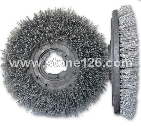 13寸-18寸石板钢丝尼龙混合刷