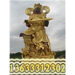 四大天王雕塑,庙宇雕塑