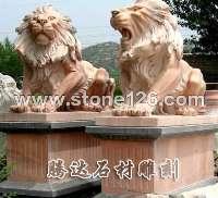 河北曲阳腾达石雕厂出售各种动物雕塑