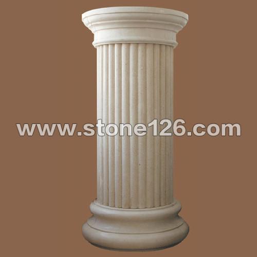 圆柱俯视手绘图