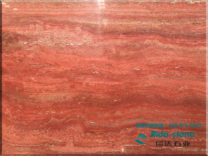 供应瑞达石业供应红木纹大理石