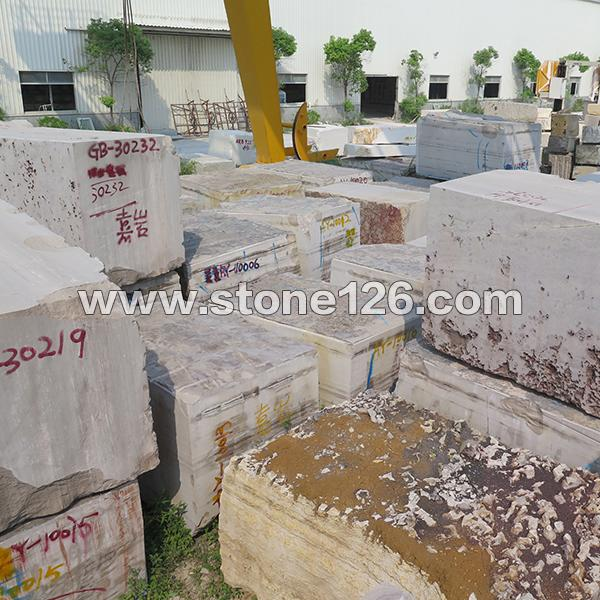 贵州木纹矿区直销 灰木纹大理石荒料