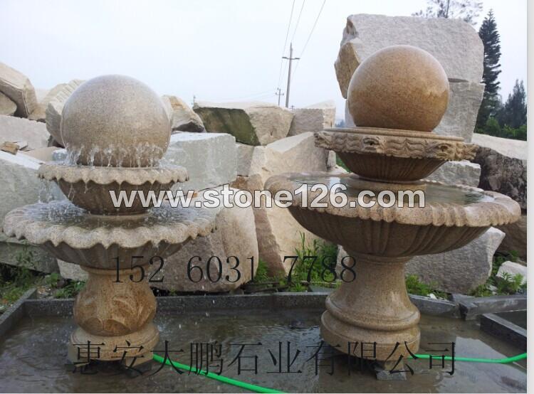 福建石雕风水球喷泉的寓意及摆放位置