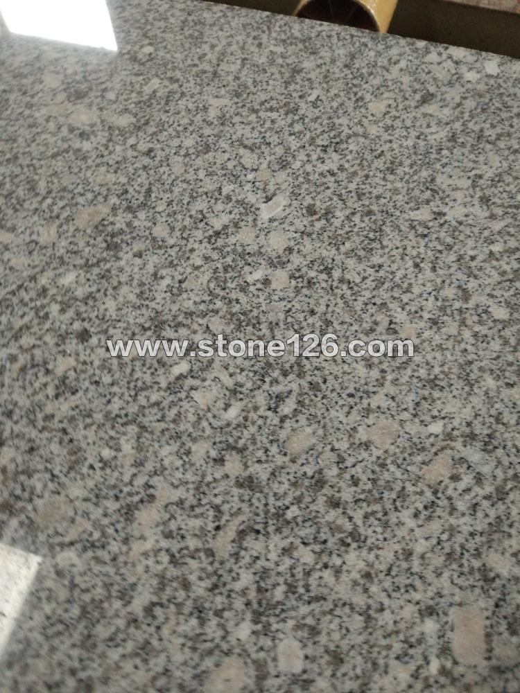 河南梨花白|白麻花岗岩,盲道石,路沿石|