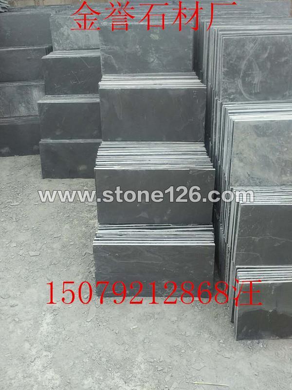 青石板黑色青石板绿色青石板锈板厂家价格金誉石材厂