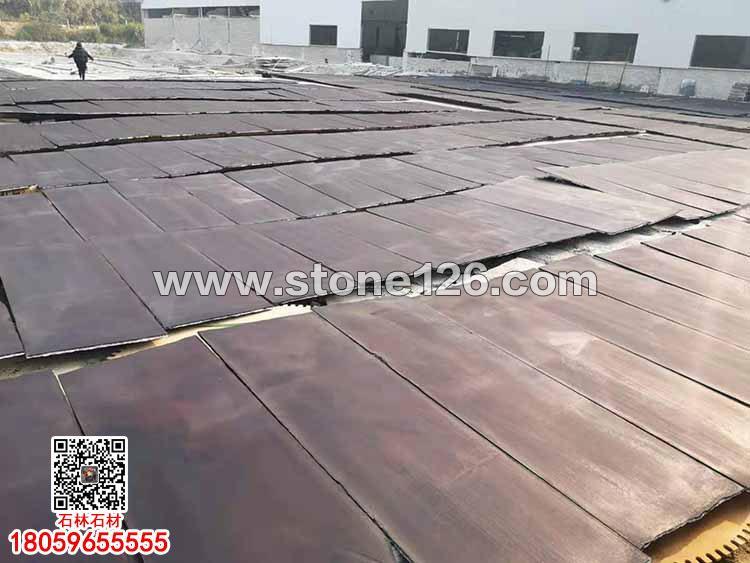 便宜石材染板染黑板可代替中国黑花岗岩蒙古黑花岗岩